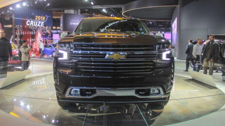 2018 Chevrolet Silverado High Country