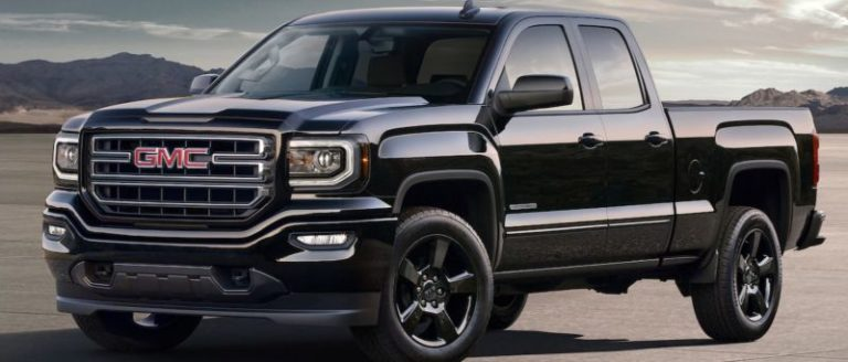 2018 GMC Sierra Elevation Sleek, Sophisticated Appearance