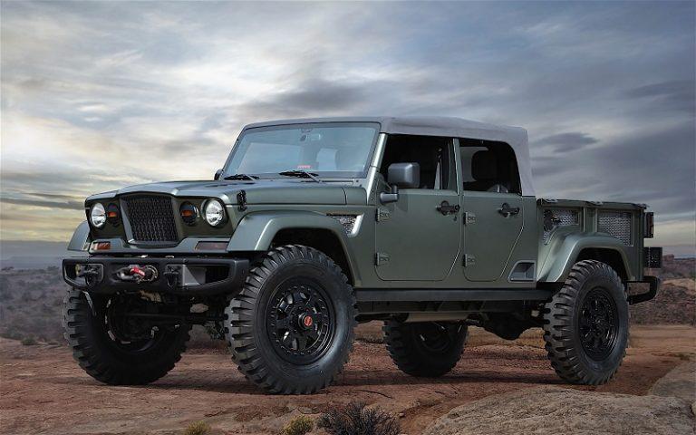 2018 Jeep Wrangler Pickup Truck Hybrid