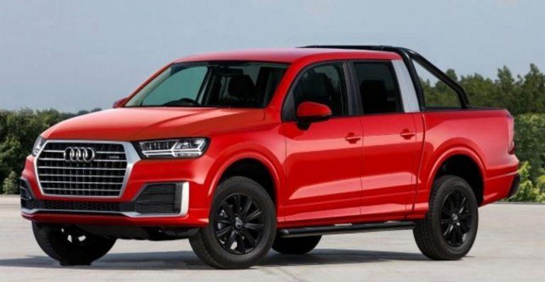 2019 Audi Pickup Truck Concept