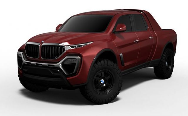 BMW Pickup Truck Concept