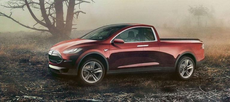 Tesla Pickup Truck Concept version could come pretty soon