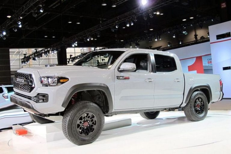 2020 Toyota Tacoma Redesign, TRD Pro, Diesel