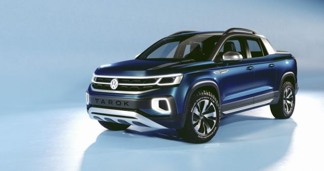2020 Volkswagen Tarok Rides On The Same MQB Platform As The Tanoak Pickup